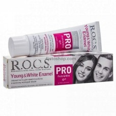 Зубная паста  Young and White Enamel PRO R.O.C.S.  135г