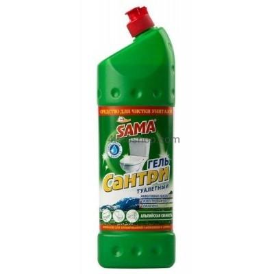 Средство для чистки унитазов SAMA Альпийская свежесть  1000мл