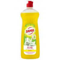 Средство для мытья посуды Sama Лимон 1000мл