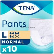 Подгузники-трусы для взрослых Tena Pants Normal Large 10 шт дышащие