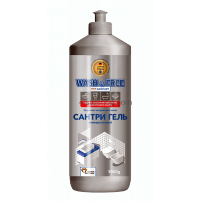 Универсальное чистящее средство Wash Free das sanitary 1000г