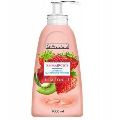 Шампунь Gallus mix frucht для жирных и нормальных волос 1л