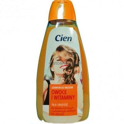 Шампунь для нормального типа волос Cien фрукты и витамины 500мл