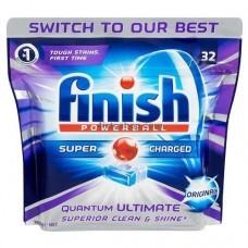 Таблетки для посудомоечных машин Finish Quantum 32шт