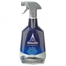 Средство для чистки и полировки изделий из нержавеющей сталиAstonish 750мл