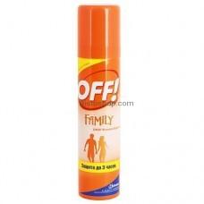 Спрей от комаров OFF Family 100мл