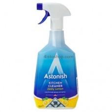 Спрей для удаления жира Astonish Kitchen Cleaner Zesty Lemon 750мл
