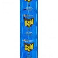 Пластины от комаров для фумигатора Raid на алюминиевой основе 1 шт
