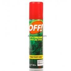 Спрей от комаров и клещей OFF Экстра защита 100мл