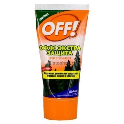 Крем от комаров и клещей OFF Экстра защита 50мл