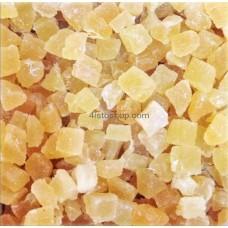 Цукаты ананаса натуральные кубик оптом 1кг