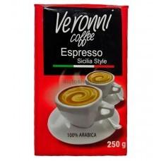 Кофе молотый Veroni 250г