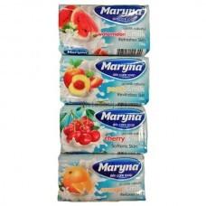 Туалетное мыло Maryna с фруктами и молоком 125г