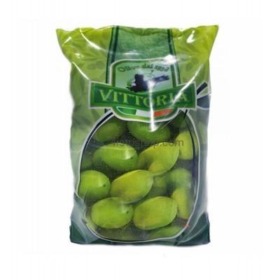 Оливки зелёные с косточкой Vittoria Olive Verdi Dolci Giganti 850 г