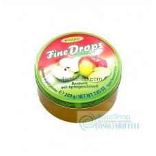 Леденцы Woogie Fine Drops Аpple Bonbons с яблочным вкусом 200 г