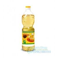 Подсолнечное масло Повар Ришелье рафинированное 1 л