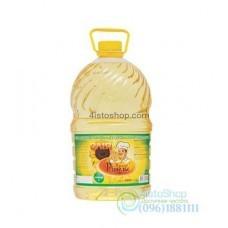 Подсолнечное масло Повар Ришелье рафинированное 5л