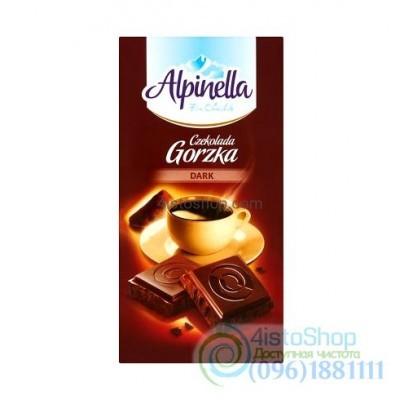 Шоколад черный Alpinella горький