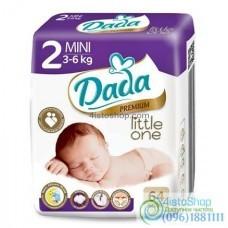 Подгузники Dada 2 Premium 3-6 кг с индикатором 64 шт