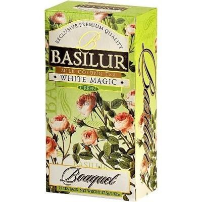 Чай зеленый Basilur Белое волшебство 20пак