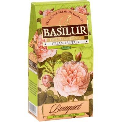 Чай зеленый Basilur Букет Кремовая фантазия картон