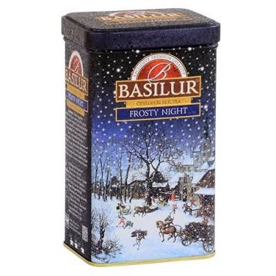 Чай черный Basilur Подарочная коллекция Морозная ночь ж/б