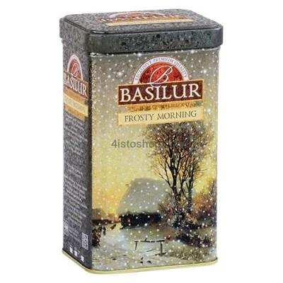 Чай черный Basilur Подарочная коллекция Морозное утро 85г ж/б