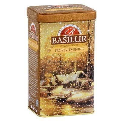 Чай черный Basilur Подарочная коллекция Морозный вечер ж/б