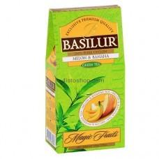 Чай зеленый Basilur Магические фрукты Дыня и Банан картон 100г