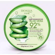 Крем-гель для лица увлажняющий BioaquaAloe Vera 92% 220мл