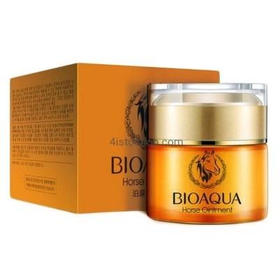 Увлажняющий крем BioAqua Horseoil с конским жиром 50мл