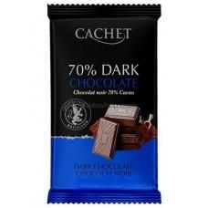 CACHET Dark 70% Chocolate тёмный 300 г