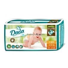 Подгузники Dada 3 Extra Soft midi от 4 до 9 кг 54 шт