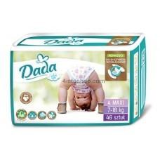 Подгузники Dada 4 Extra Soft Maxi 7 - 18 кг 46 шт