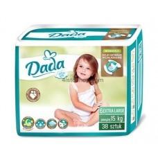 Подгузники Dada 6 Extra soft Extra Large 15+кг 38 шт
