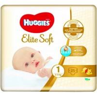 Подгузники Huggies 1 Elite Soft 2-5 кг 25 шт