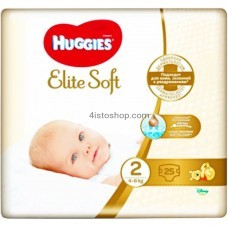 Подгузники Huggies 2 Elite Soft 3 - 6 кг 25 шт