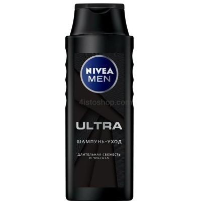 Шампунь для мужчин Nivea Men Ultra 400 мл