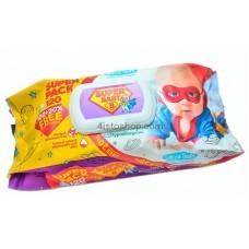 Влажные салфетки Super Baby SuperPack Ромашка и Aлоэ вера 120 шт