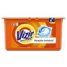 Капсулы для стирки Vizir Alpine Fresh 41 шт