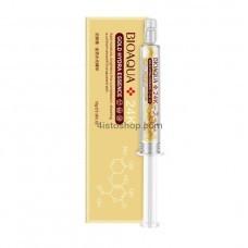 Сыворотка для лица Bioaqua Gold Hydra Essence с частицами золота и гиалауроновой кислотой 10г