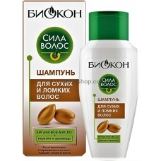 Шампунь Биокон Сила Волос для сухих и ломких волос 215 мл
