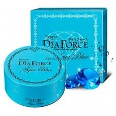 Патчи гелевые с минералами и пудрой сапфира Rearar Dia Force Aqua Blue 60шт