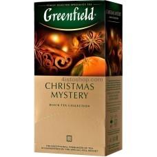 Чай черный пакетированный Greenfield Christmas Mystery 1,5г х 25 шт