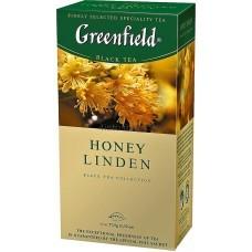 Чай черный пакетированный Greenfield Honey Linden 1,5г х 25 шт