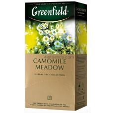 Чай травяной пакетированный Greenfield Camomile Meadow 25 x 1.5 г