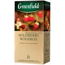 Чай пакетированный Greenfield Wildberry Rooibos 25 x 1.5 г