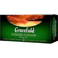Чай пакетированный Greenfield Golden Ceylon 25 x 2г