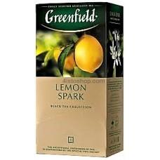 Чай черный пакетированный Greenfield Lemon Spark 1,5г х 25 шт