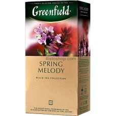 Чай черный пакетированный Greenfield Spring Melody 1,5г х 25 шт